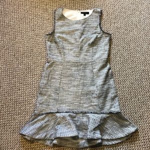 BANANA REPUBLIC Tweed, Ruffle HRM dress/jumper